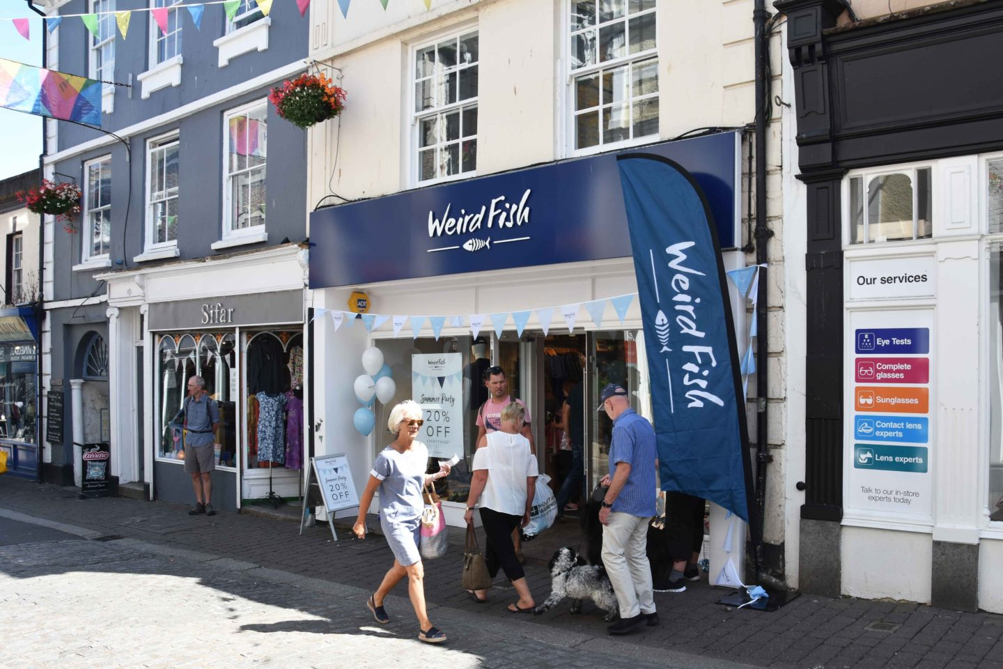 weird fish falmouth store opening