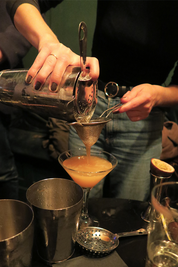cocktail masterclass at the moth and the moon in falmouth in cornwall