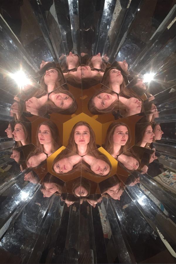 melissa carne in kaleidoscope in te papa museum